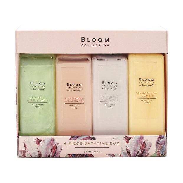 Superdrug Bloom Collection- SET FOR 4 BATH SOAKS