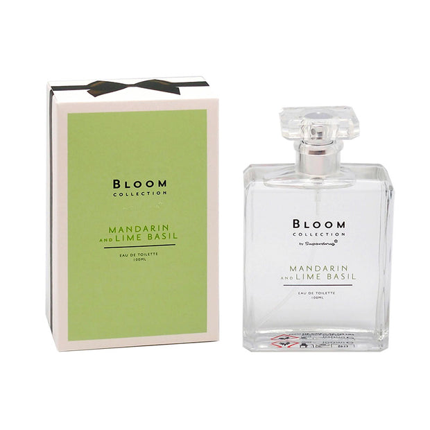 Superdrug Bloom Collection- MANDARIN & LIME BASIL EDT 100ML