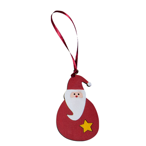Christmas Figure Wooden Hanging