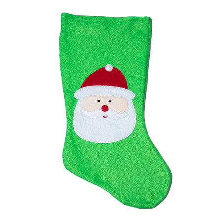 Christmas Stocking With Christmas Figure