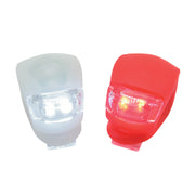 2PCS Bicycle Light With Extra Battery