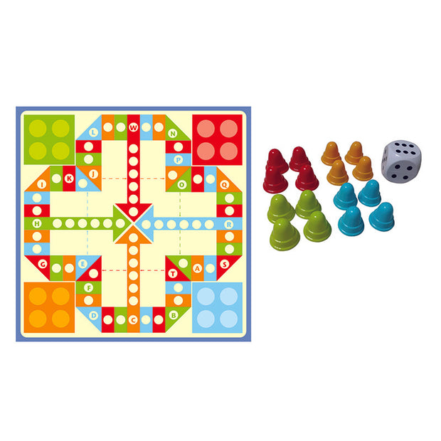 Ludo Play-mat Game
