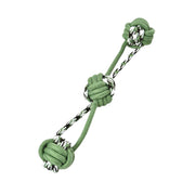 Pet Rope Toy - 3 Balls