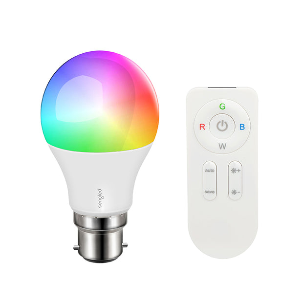 Paint RGBW with Remote Control LED Bulb - A60