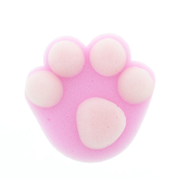 Cat Paw Shower Puff