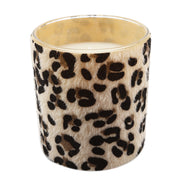 Scented Candle With PU Wrap