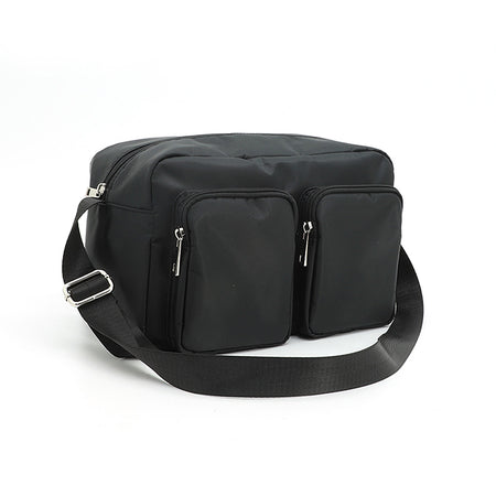 Shoulder Bag With 2 Front Pockets
