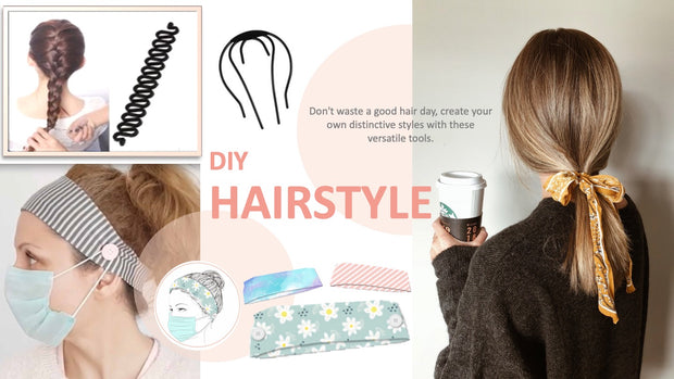 Slide 33: DIY Hairstyle