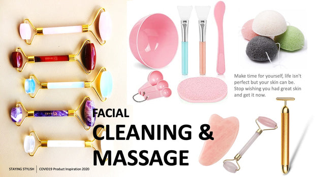 Slide 34: Facial Cleaning & Massage