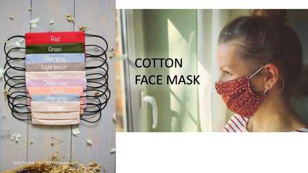 Slide 9: Cotton Face Mask