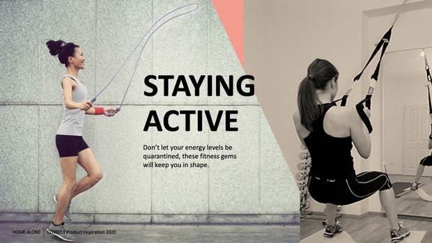 Slide 7: Staying Active