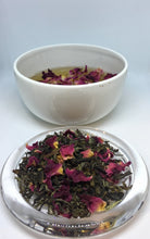 Tulasi Tea with Rose Petals