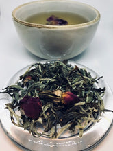 Bud of Rose with White Tea