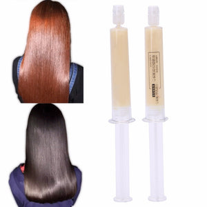 2pcs Dry Damaged Keratin Repair Treatment Moisturizing Hair Mask Hot!