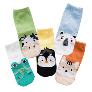 Kawaii™ Pattern Kids Socks - 5 pairs