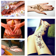 Temporary Henna Tattoo Makeup