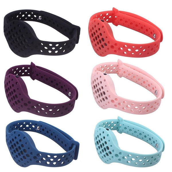 Fitness Tracker Silicone Replacement Bracelet