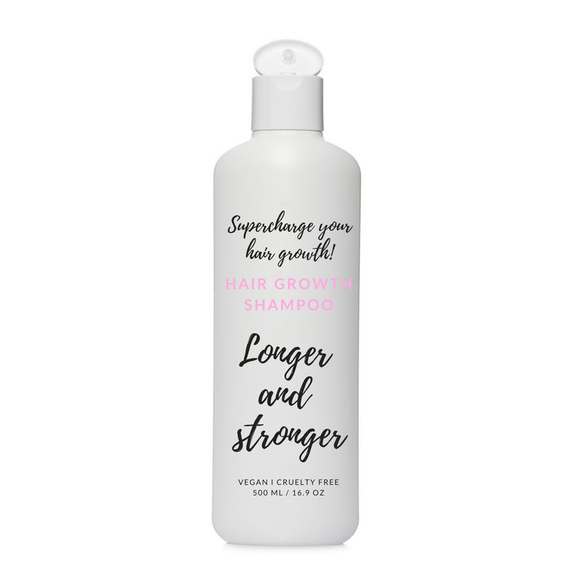Shampoo for longer and stronger hair.