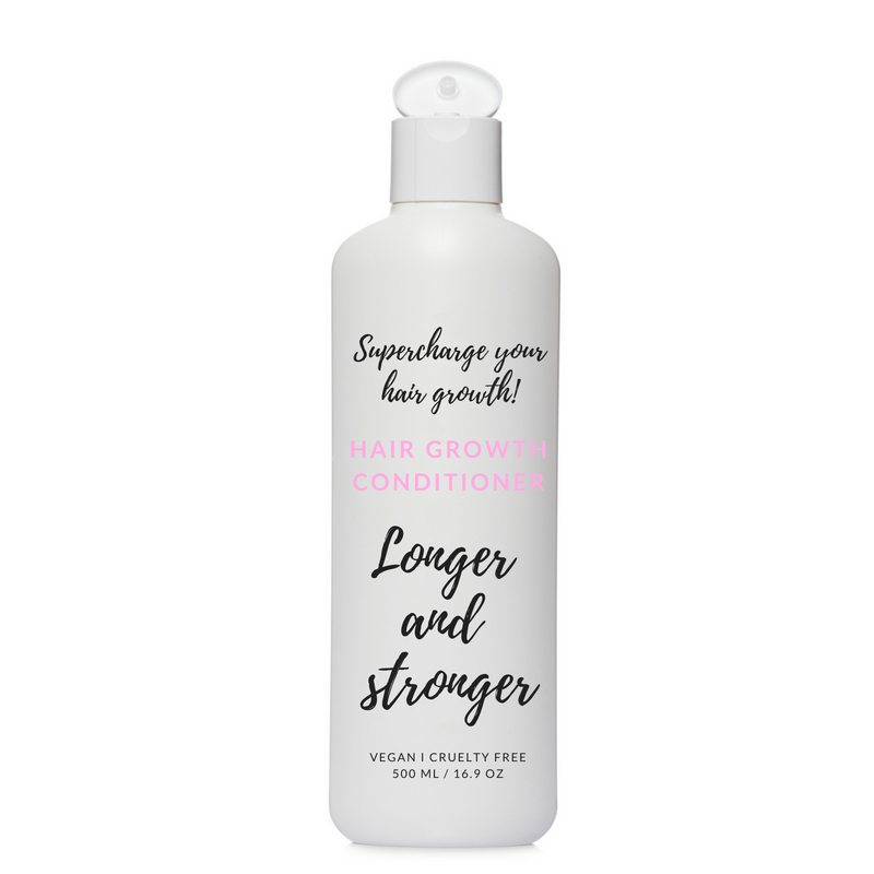 Conditioner for longer and stronger hair.
