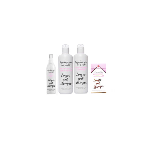 Hair growth value pack valued at $129.85