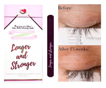Lash growth oil! longer, thicker and stronger lashes!