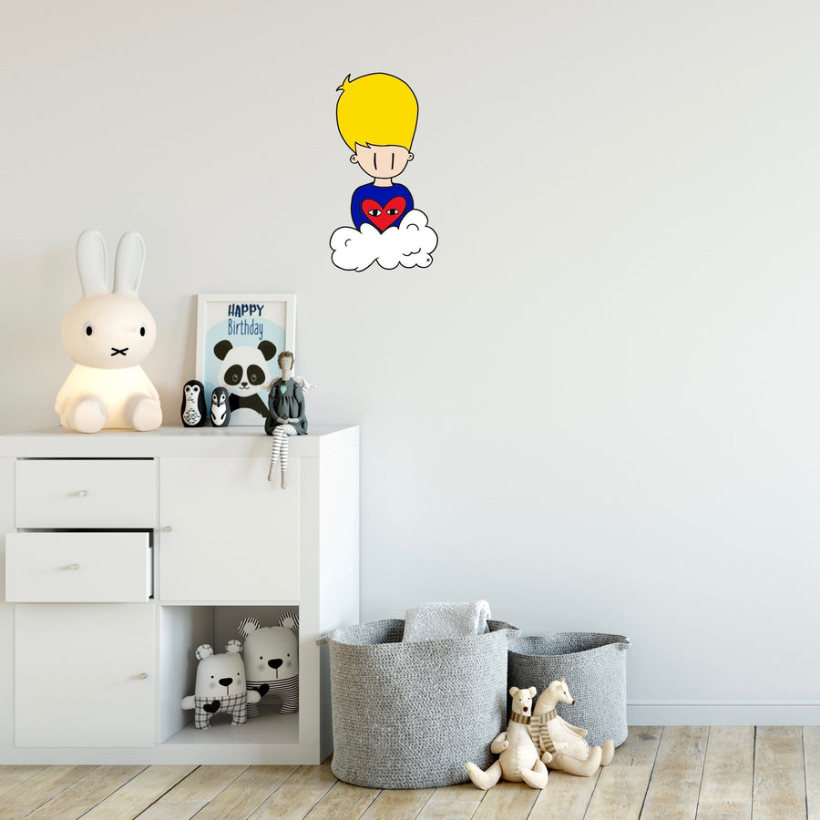Sticker mural Jolittle pour Modern Art Family