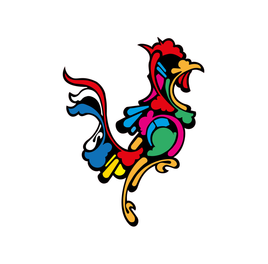 Le coq français - Jeanjerome / sticker / Modern Art Family