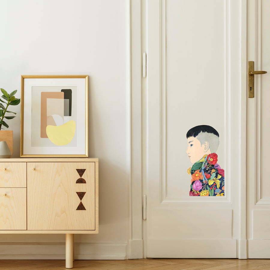 Sticker mural Lisa Zordan pour Modern Art Family