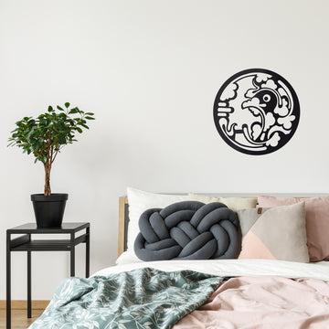 Sticker mural Jeanjerome pour Modern Art Family