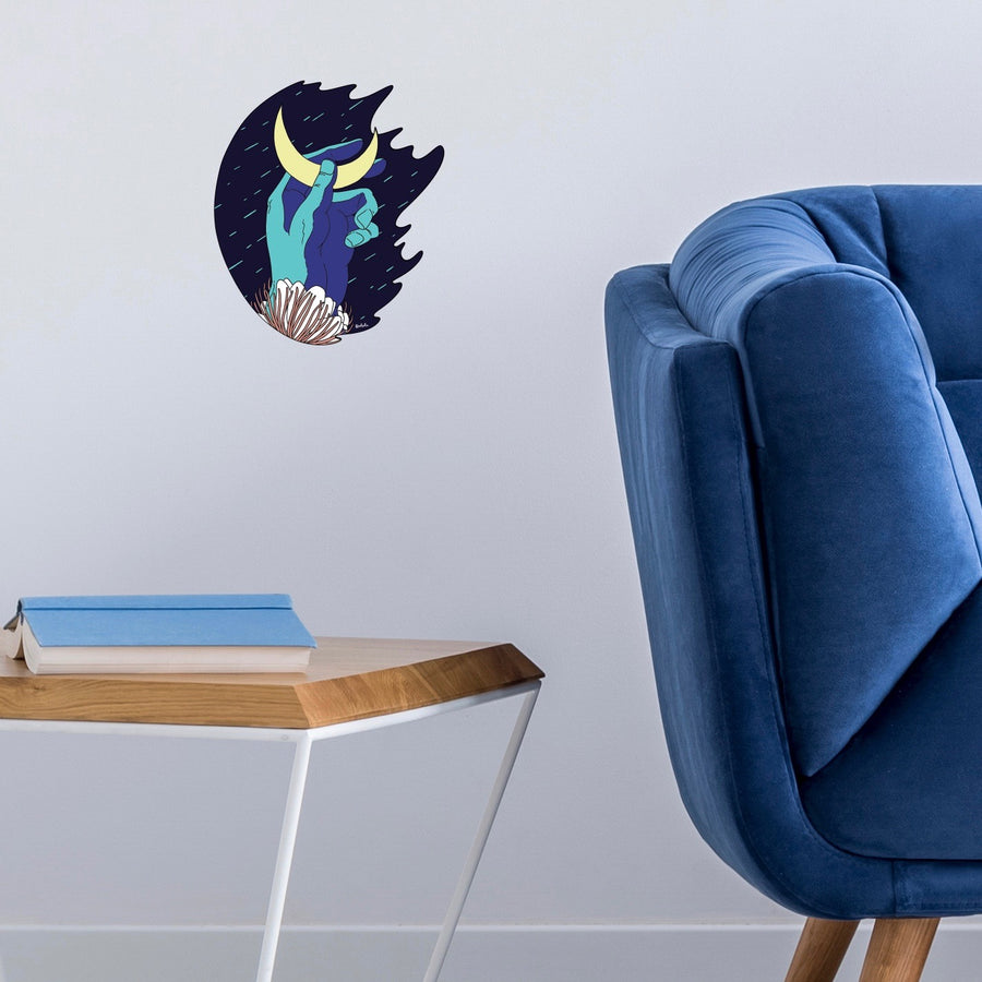 Sticker mural Quetzilla pour Modern Art Family