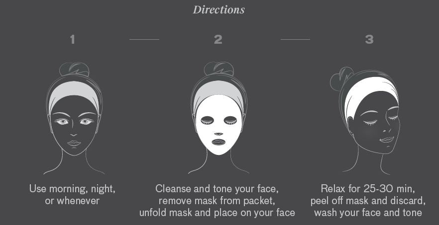 sheet face mask djuve
