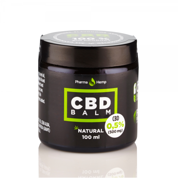 NATURAL CBD BALM / SALVE<br /> 100ml | 0.5%