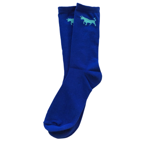 Big Bull Socks - Blue