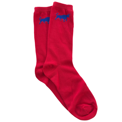 Big Bull Socks - Red