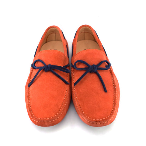 Moccasin - Citrus Orange