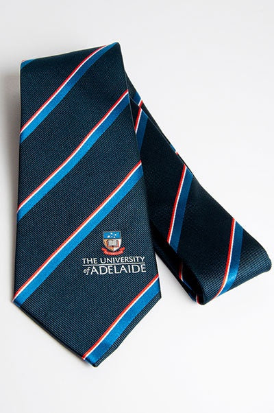 University Silk Tie - The Adelaide Store