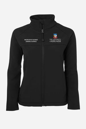 Bachelor of Science (Animal Sciences) soft shell jacket women's