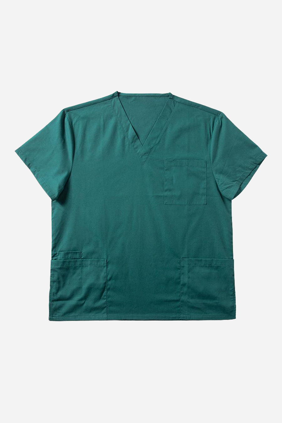 Green scrub top women's