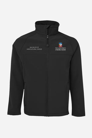 Bachelor of Agricultural Science men's soft shell jacket