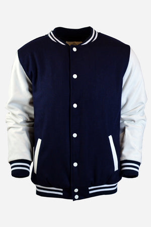 Men's Navy Varsity Jacket