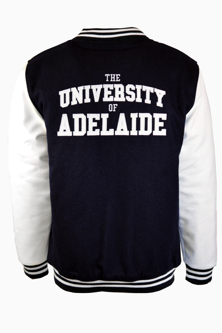 Women's Navy Varsity Jacket