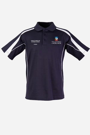 DVM Placement polo navy men's