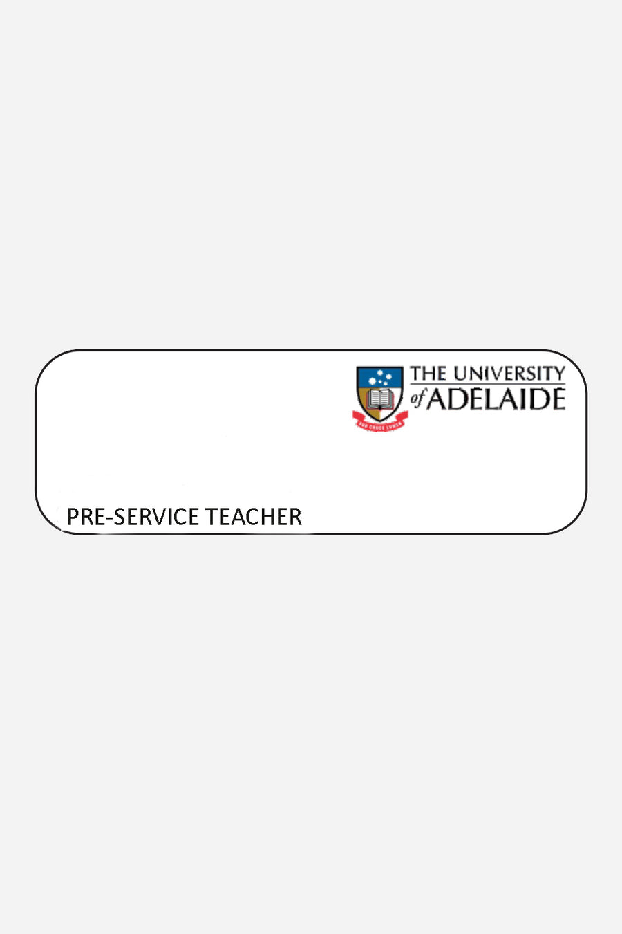Name badge - The Adelaide Store