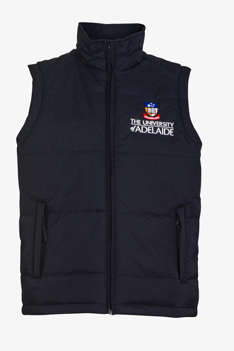 Mens University Padded Vest - The Adelaide Store
