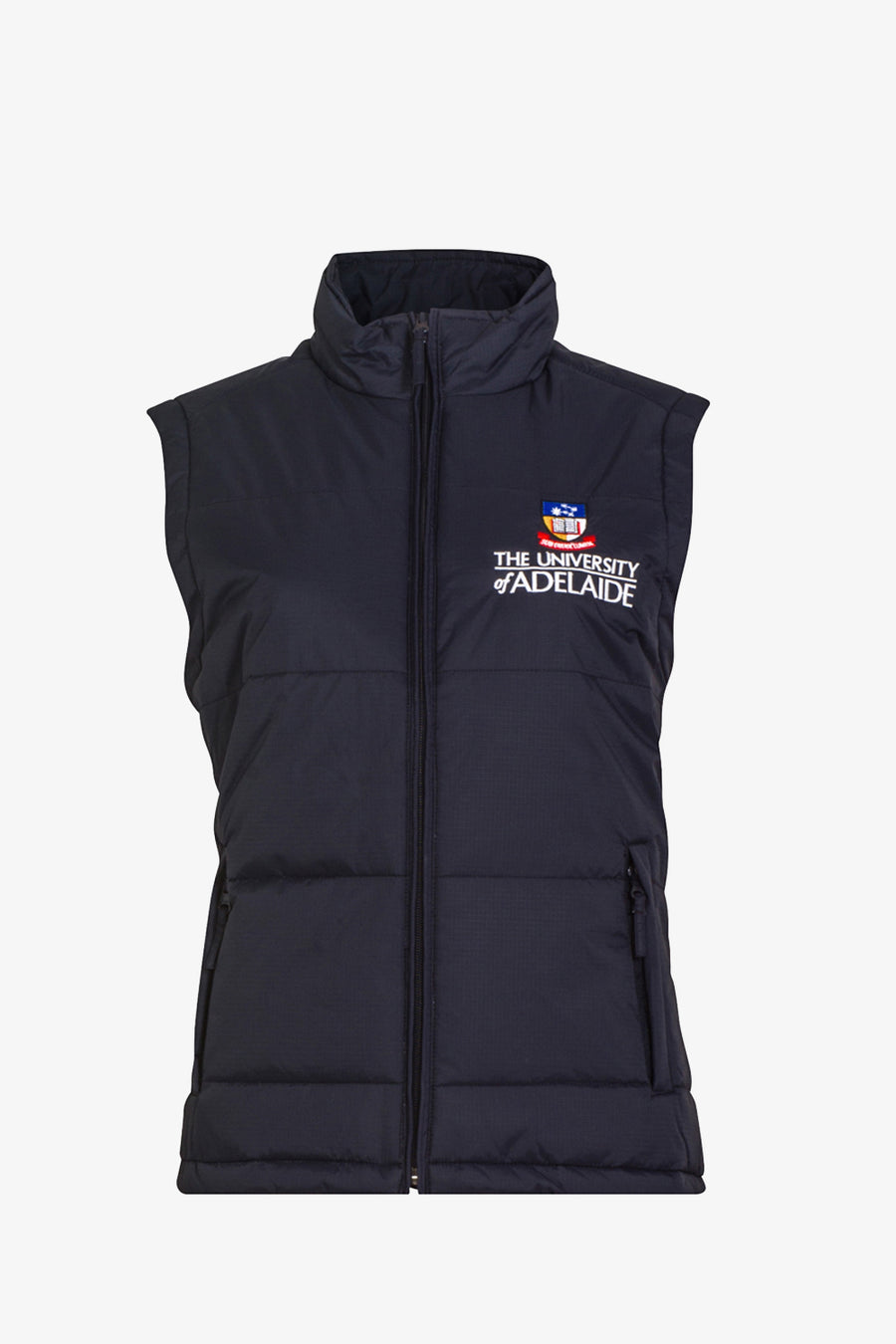 Womens University Padded Vest - The Adelaide Store