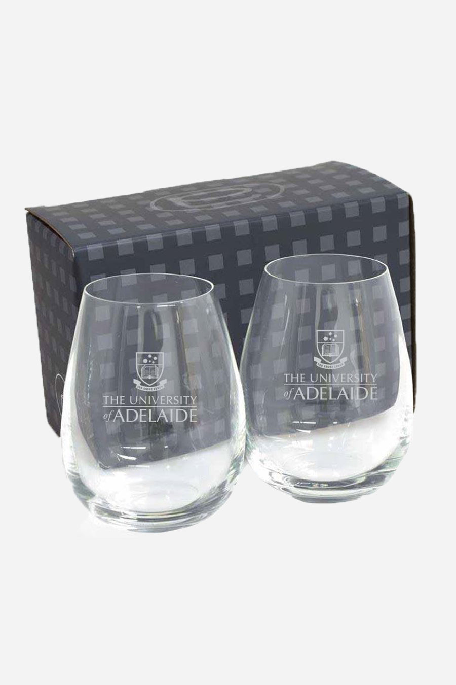 Stemless Wine Glasses 2 Pk - The Adelaide Store