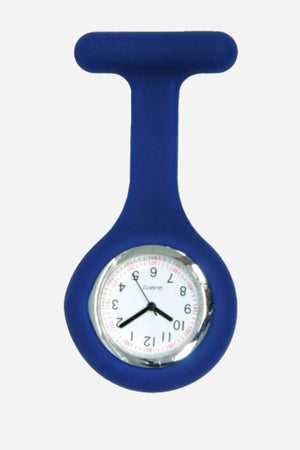 Silicone fob watch navy