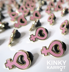 Female Symbol <br> Enamel Pin