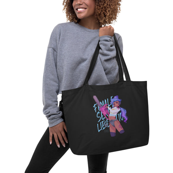 Female Sexual Liberation Large Tote