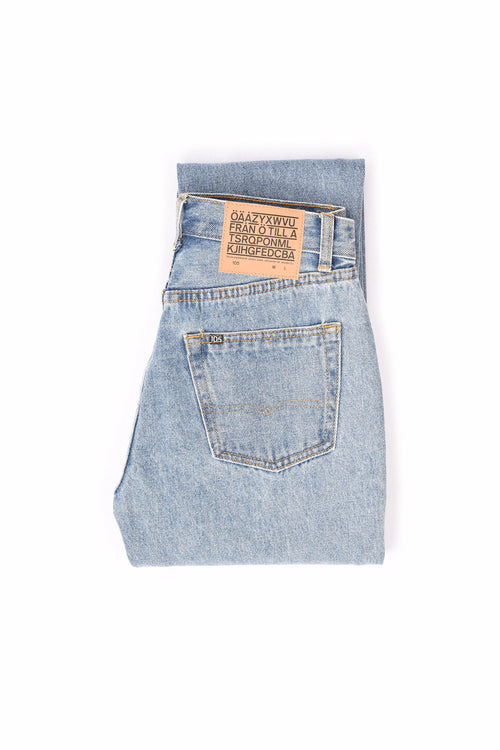 105 UNISEX JEANS LIGHT BLUE